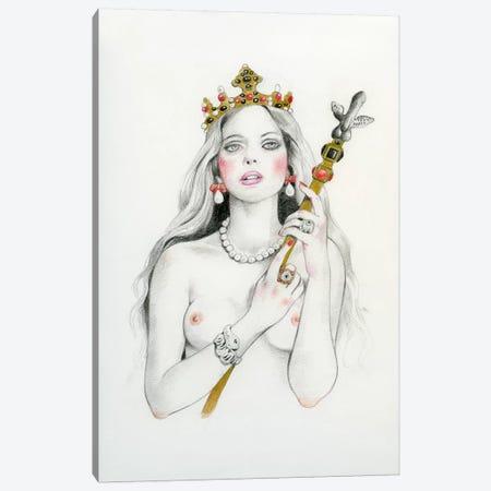 Queen III - Eleonora Canvas Print #TGA68} by Titti Garelli Art Print