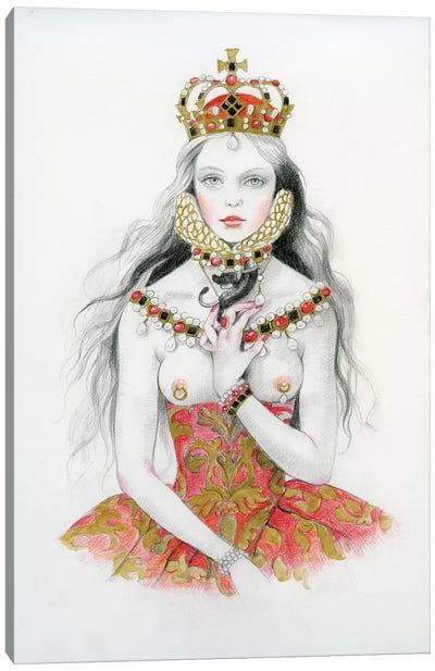 Queen VI - Elizabeth Canvas Art Print