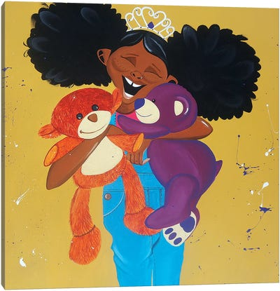 Huggable Harriet Canvas Art Print