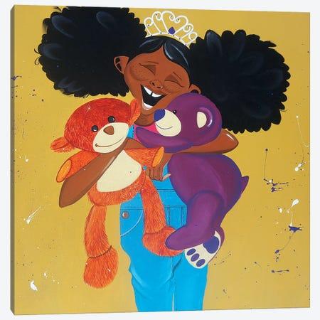 Huggable Harriet Canvas Print #TGL11} by Tiffani Glenn Canvas Art Print
