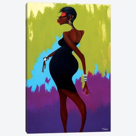 No Looking Back 3-Piece Canvas #TGL12} by Tiffani Glenn Art Print