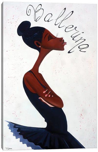 The Ballerina Canvas Art Print