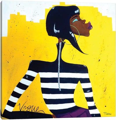 Vogue Canvas Art Print