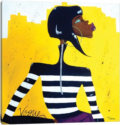 Vogue Canvas Art Print