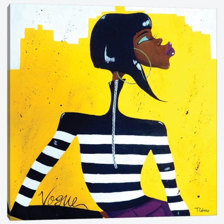 Vogue Canvas Print #TGL19} by Tiffani Glenn Canvas Print
