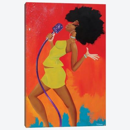 A Capella Canvas Print #TGL1} by Tiffani Glenn Canvas Art