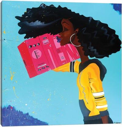 Listening To My Dreams Canvas Art Print