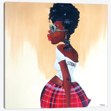 Be Strong Canvas Print #TGL2} by Tiffani Glenn Canvas Art
