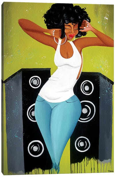 Feel the Music Canvas Art Print