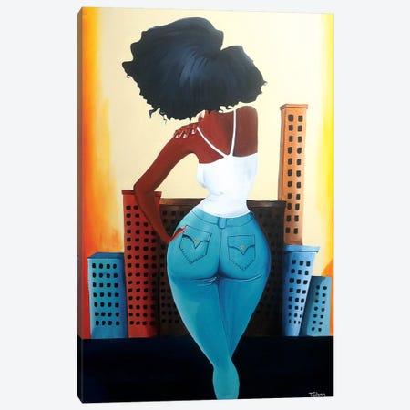 Heart Of The City II Canvas Print #TGL8} by Tiffani Glenn Canvas Artwork