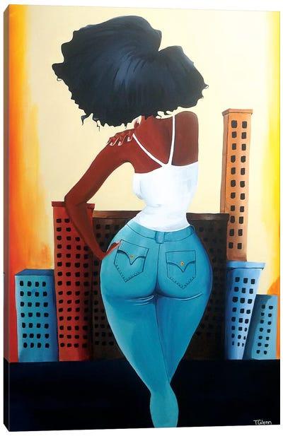 Heart Of The City II Canvas Art Print