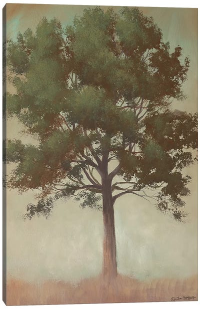 Tonal Tree Canvas Art Print