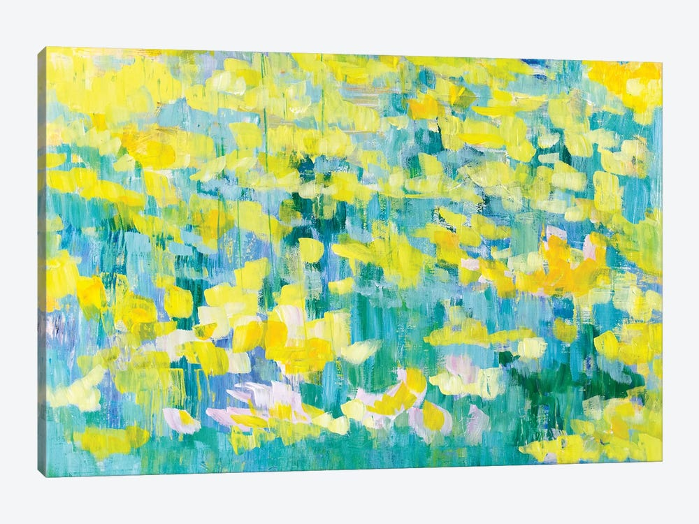 And They Were All Yellow by Tamara Gonda 1-piece Canvas Artwork