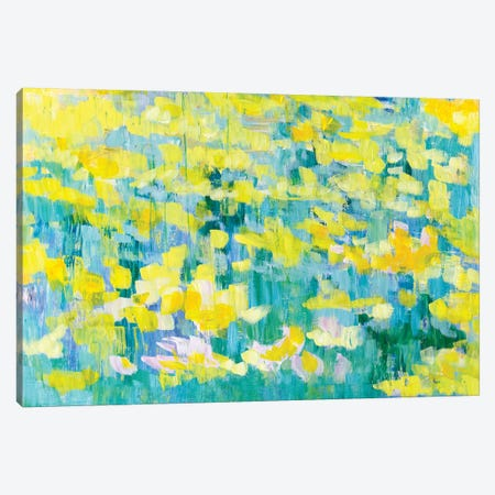 And They Were All Yellow Canvas Print #TGO1} by Tamara Gonda Canvas Art Print