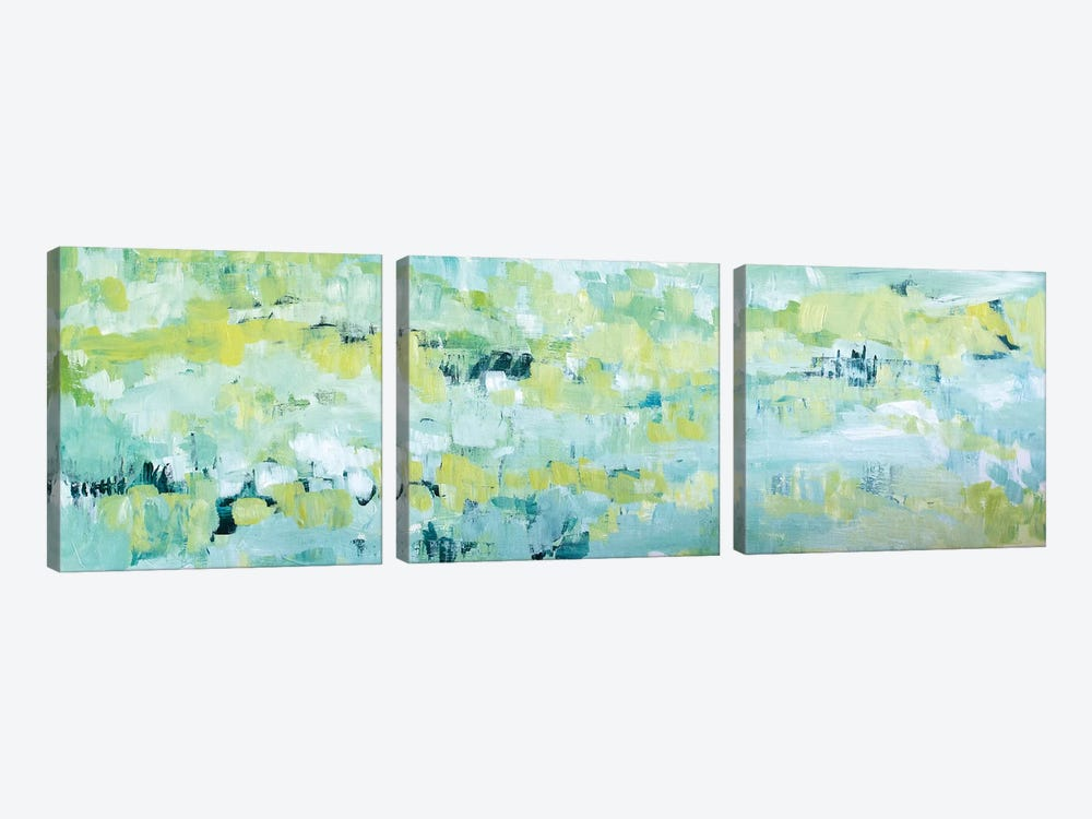 Except In Spring by Tamara Gonda 3-piece Canvas Art
