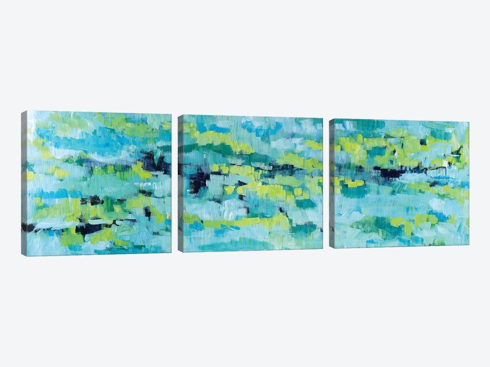 Except When Soft Rains by Tamara Gonda 3-piece Canvas Art Print