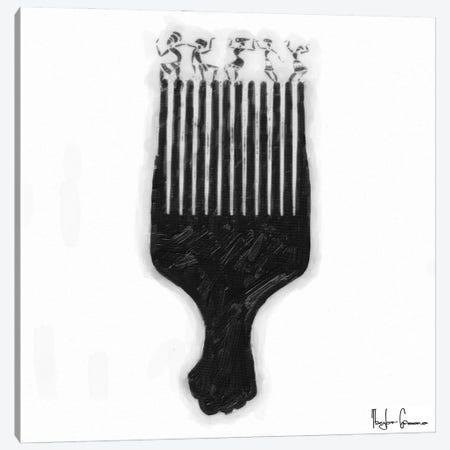 Afro Pick Canvas Print #TGR1} by Taylor Greene Canvas Art Print