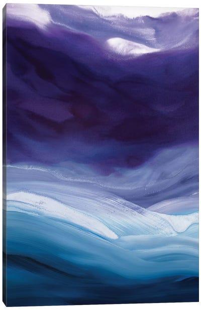 Lavender Sky Canvas Art Print