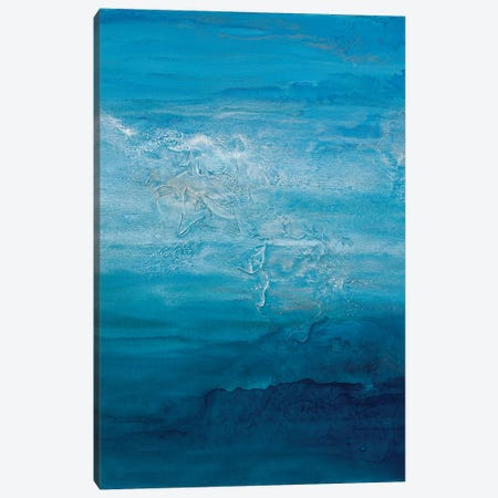 Opal Sky I Canvas Print #TGU12} by Teodora Guererra Canvas Wall Art