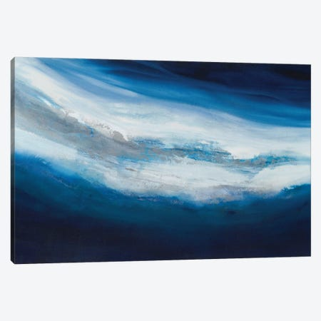 Silver Current Canvas Print #TGU16} by Teodora Guererra Canvas Print