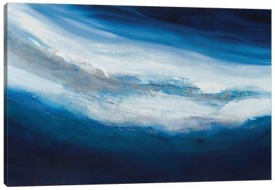 Silver Current Canvas Art Print