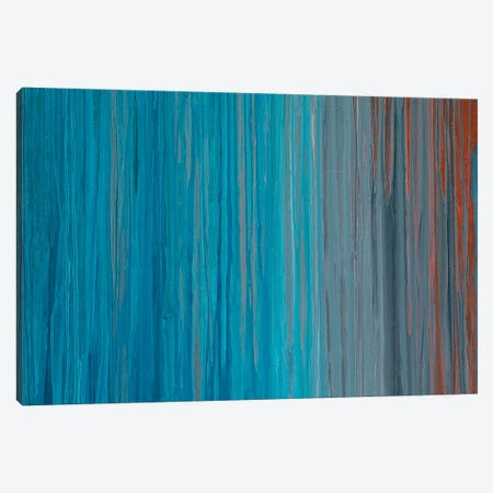 Drenched in Teal I Canvas Print #TGU3} by Teodora Guererra Canvas Art