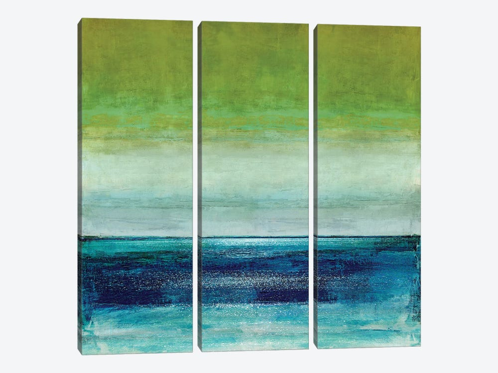 Musing by Taylor Hamilton 3-piece Canvas Art Print