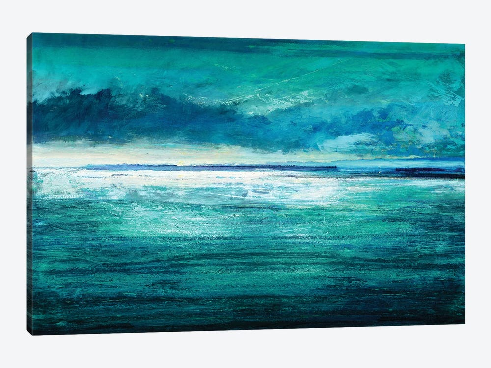 Reflection On The Horizon I by Taylor Hamilton 1-piece Canvas Print