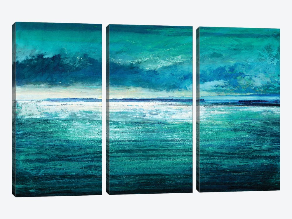 Reflection On The Horizon I by Taylor Hamilton 3-piece Canvas Art Print