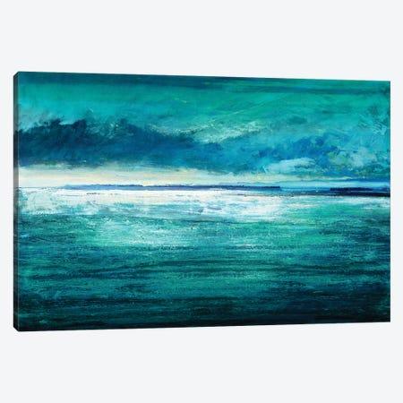 Reflection On The Horizon I Canvas Print #THA14} by Taylor Hamilton Canvas Print