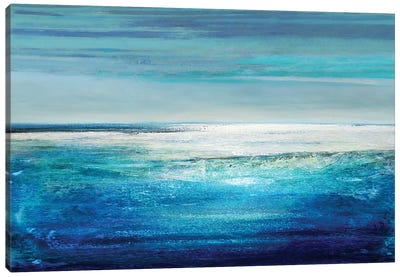 Reflection On The Horizon II Canvas Print #THA15