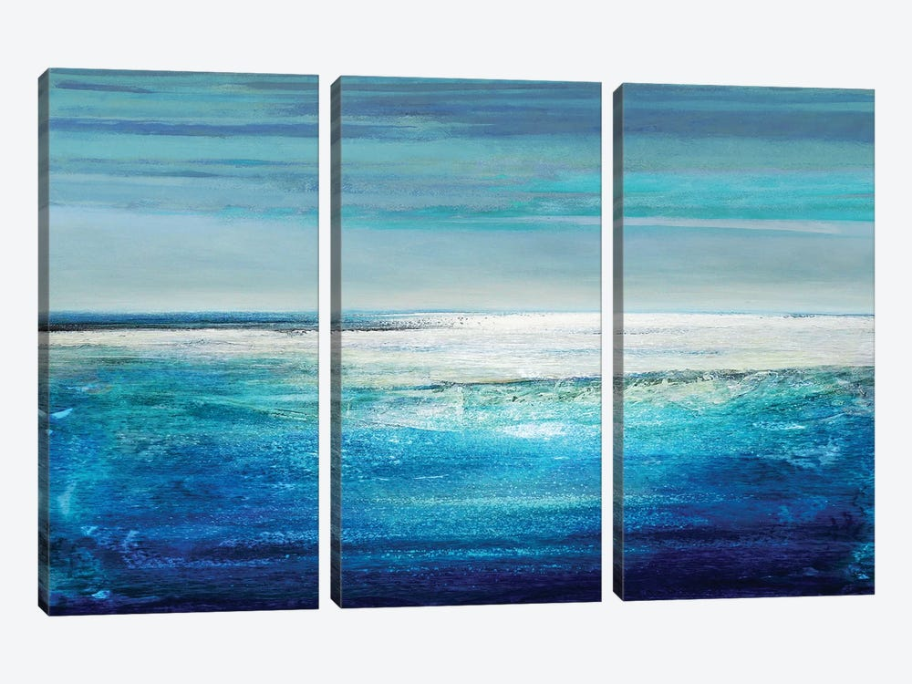 Reflection On The Horizon II by Taylor Hamilton 3-piece Canvas Art