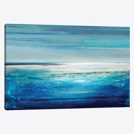 Reflection On The Horizon II Canvas Print #THA15} by Taylor Hamilton Canvas Print