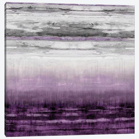 After Glow Aubergine Canvas Print #THA1} by Taylor Hamilton Canvas Artwork