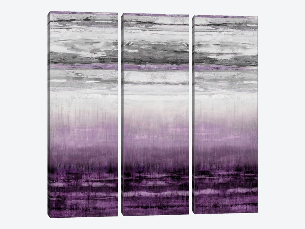 After Glow Aubergine by Taylor Hamilton 3-piece Canvas Art