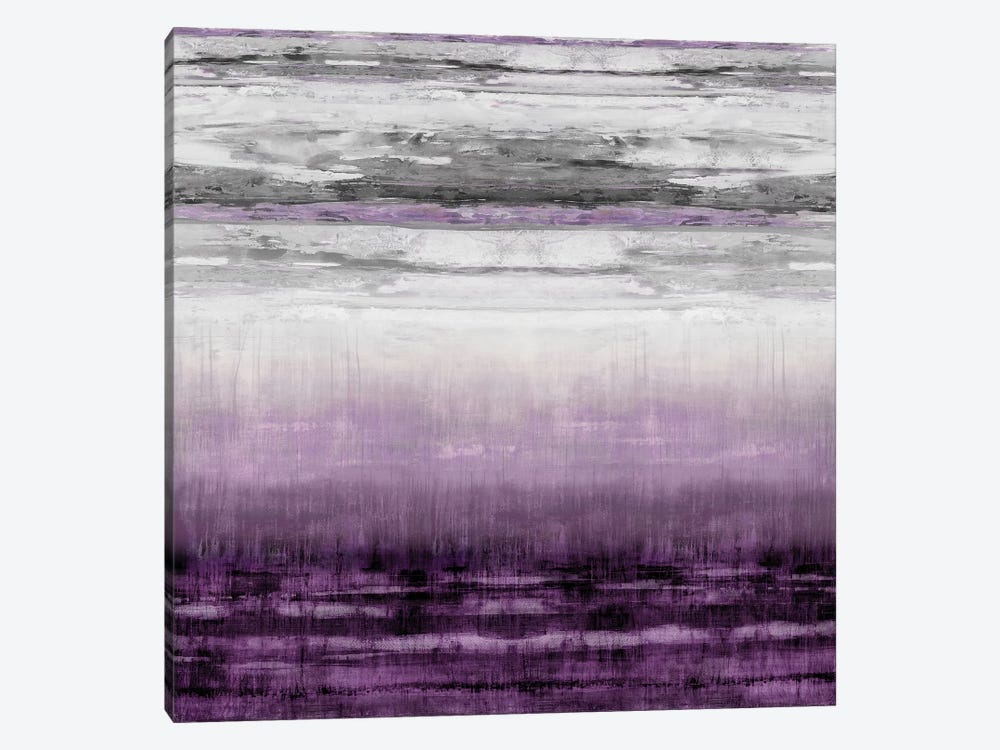 After Glow Aubergine by Taylor Hamilton 1-piece Canvas Wall Art