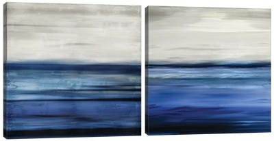 Interlude & Respite Diptych Canvas Art Print