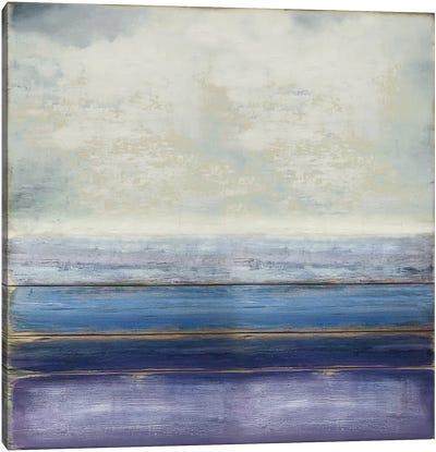 Blue and Amethyst Canvas Art Print