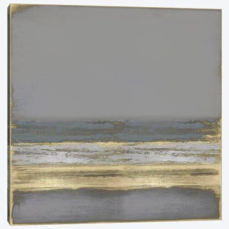 Gold on Gray Canvas Print #THA31} by Taylor Hamilton Canvas Wall Art
