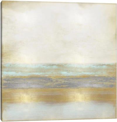 Golden Reflection Canvas Art Print