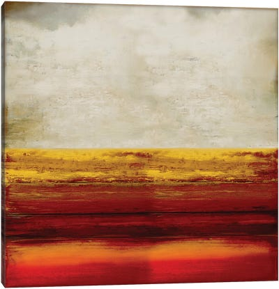 Highlighted Amber Canvas Art Print