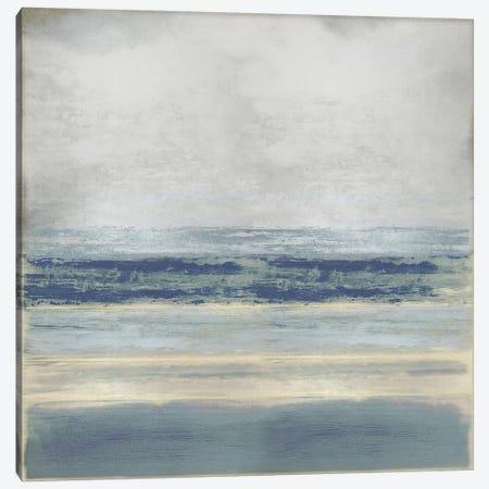 Highlighted Blue 3-Piece Canvas #THA37} by Taylor Hamilton Canvas Art Print