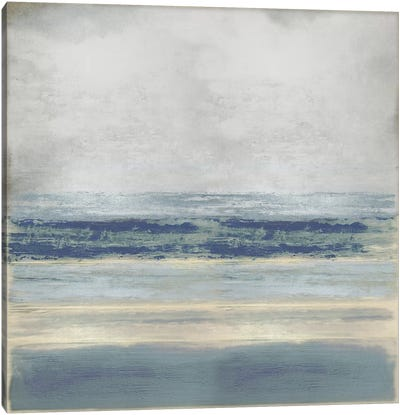 Highlighted Blue Canvas Art Print