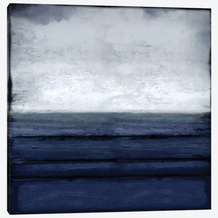 Highlighted Horizon Canvas Print #THA39} by Taylor Hamilton Canvas Artwork