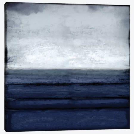 Highlighted Horizon Canvas Print #THA39} by Taylor Hamilton Canvas Artwork