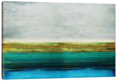 Turquoise Reflection Canvas Art Print