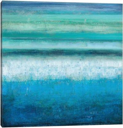 Aqua Tranquility Canvas Art Print