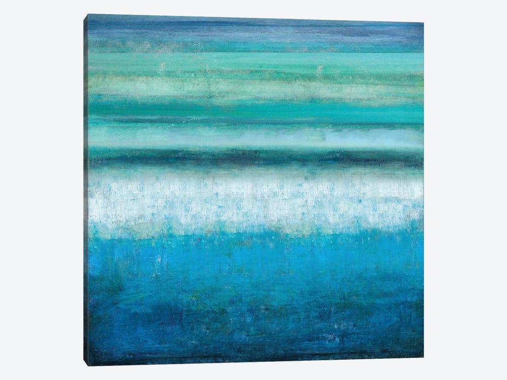 Aqua Tranquility by Taylor Hamilton 1-piece Art Print