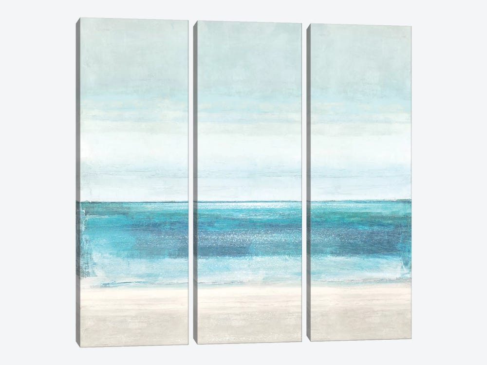 Azure Horizon by Taylor Hamilton 3-piece Canvas Art