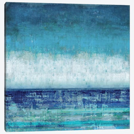 Blue Horizions Canvas Print #THA8} by Taylor Hamilton Canvas Artwork